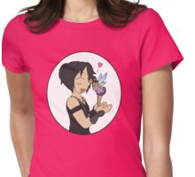 RAIN - Pixie Kiss Womens Fitted T-Shirt
