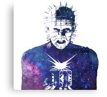 Hellraiser | Pinhead | Doug Bradley | Galaxy Horror Icons Canvas Print