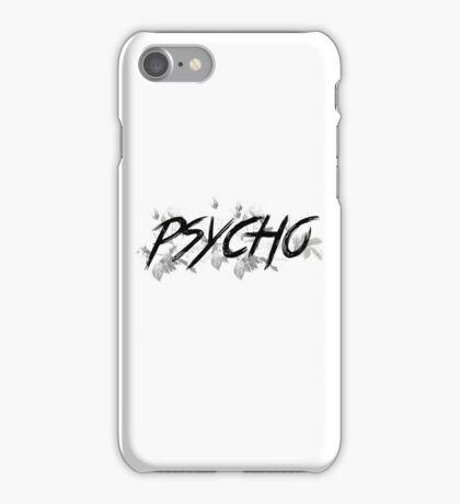 Floral Psycho iPhone Case/Skin