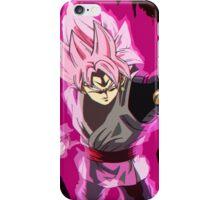 BLACK GOKU: SUPER SAIYAN ROSÉ  iPhone Case/Skin