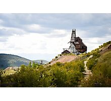 Victor Colorado, A Small Mining Town Photographic Print