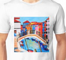 Colors of Venice Italy Unisex T-Shirt