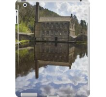 Gibson Mill in Hardcastle Crags nature park, iPad Case/Skin