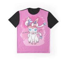 Sylveon Print Graphic T-Shirt