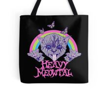 Heavy Meowtal Tote Bag