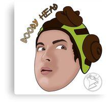 Cow Chop - Doody Head Canvas Print