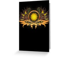 Sunchild Greeting Card