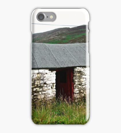 Abandoned Barn, Inishowen Peninsular, Donegal, Ireland iPhone Case/Skin