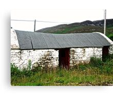 Abandoned Barn, Inishowen Peninsular, Donegal, Ireland Canvas Print