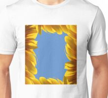 Sunflower frame Unisex T-Shirt