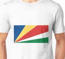 Seychelles Flag Unisex T-Shirt