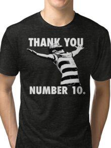 NUMBER 10 FOREVER Tri-blend T-Shirt