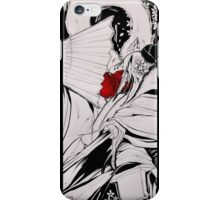 Crow Tengu - Fleeting Blossoms iPhone Case/Skin