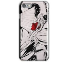Crow Tengu - Fleeting Blossoms iPhone Case/Skin