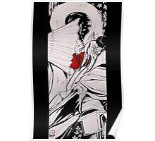 Crow Tengu - Fleeting Blossoms Poster
