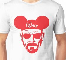 Red Walter White Mouse Ears Unisex T-Shirt