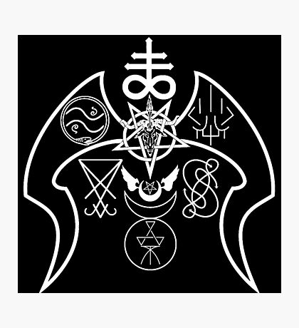 United Aspects of Satan Photographic Print