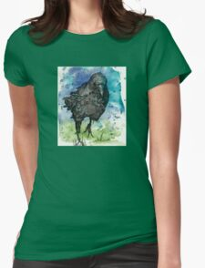 Lone Bird Womens Fitted T-Shirt