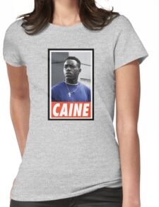 (MOVIES) Caine Womens Fitted T-Shirt