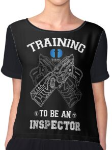 Training to be an inspector Chiffon Top
