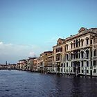Grand Canal Venice Italy 19840727 0008 by Fred Mitchell