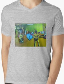 Figures in the Space Study 2 Mens V-Neck T-Shirt