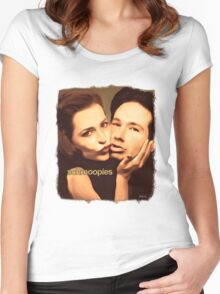 Gillian and David - Schmoopies Women's Fitted Scoop T-Shirt