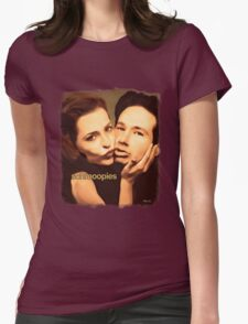 Gillian and David - Schmoopies Womens Fitted T-Shirt