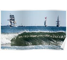 Tall Ships Regatta At Blyth Poster