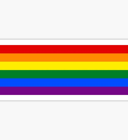 Gay Pride Flag / Rainbow Sticker