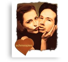 Gillian and David - The Schmoopies Canvas Print