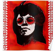 Mary Wells - Dia de los Muertos Day Of The Dead Soul Oldies  Poster
