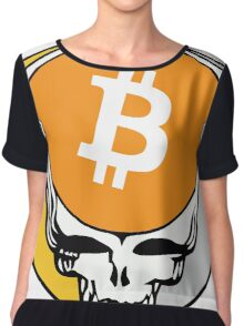 Grateful Dead (Steal Your Face) - Bitcoin 2 Chiffon Top