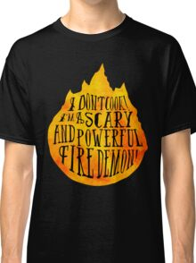 Fire Demon  Classic T-Shirt