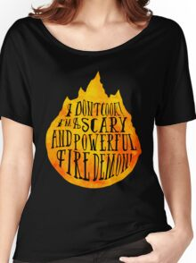 Fire Demon  Women's Relaxed Fit T-Shirt