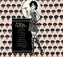 Gatsby Girl 1920s Recipe for Flapper Girl in Ballet Pink  by CecelyBloom