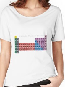 Periodic Table of Music Women's Relaxed Fit T-Shirt