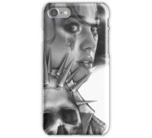 Warrior BW iPhone Case/Skin