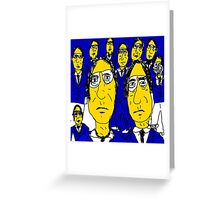 The Top Guys Greeting Card