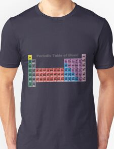 Periodic Table of Music Unisex T-Shirt