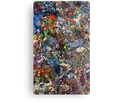 Mutant Collage Metal Print