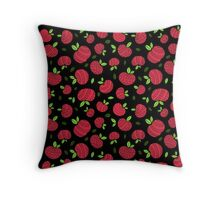 Fresh Apples Throw Pillow