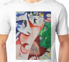 I and the Village- Tribute to Chagall Unisex T-Shirt
