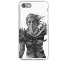 Warrior 2 BW iPhone Case/Skin