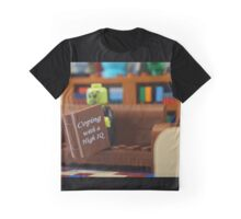 Coping With A High IQ Graphic T-Shirt