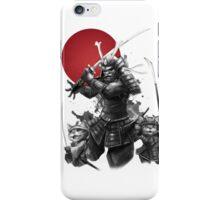 Samurai Neko iPhone Case/Skin
