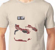 Pixel Silhouette: R.O.B. Unisex T-Shirt