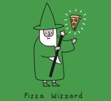 Pizza Wizzard Kids Tee