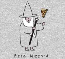 Pizza Wizzard One Piece - Long Sleeve