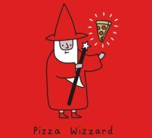 Pizza Wizzard One Piece - Short Sleeve